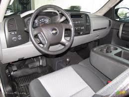 2002 Chevy Silverado Interior Dark Titanium Interior 2009 Chevrolet Silverado 1500 Ls Extended
