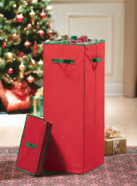 wrapping paper storage container in gift wrap organizers