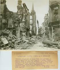 m sur le bureau coutances 3 août 1944 tour eiffel qui se trouvait sur le flickr