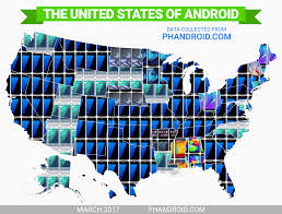 popular android the most popular android phone in every state