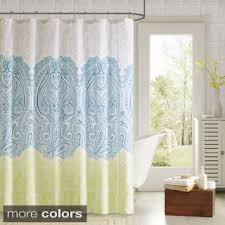 Blue And Yellow Shower Curtains Yellow And Blue Shower Curtain Home Design Plan