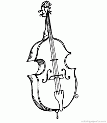 music instruments coloring pages coloring home