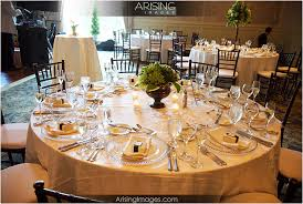 Wedding Reception Table Settings Wedding Table Setting Smaller Centerpiece Seems Okay To Me