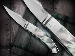 custom knives hand made by emmanuel esposito for sale by knife