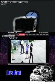 Meme Center Login - gaf appears in dragonaut by mashimizu meme center