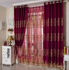 Sheer Maroon Curtains Maroon Curtains For Living Room Maroon Living Room Ideas Living