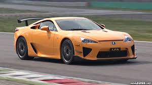 lexus supercar sport lexus lfa nürburgring edition sound on track onboard footage