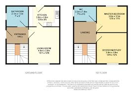 8x12 Bathroom Floor Plans 2 Bedroom Semi Detached House For Sale In Hill Place Shotts Ml7 4bz