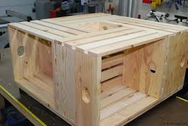 Plywood Coffee Table Wood Crate Coffee Table Woodlogger