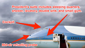 Air Force One Meme - these features make air force one an unrivaled flying fortress