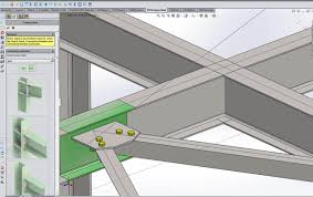 Solidworks Home Design Automated Solidworks Structural Design Using The Steel Detailer