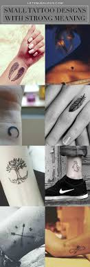 20 catchy small designs with meaning