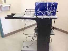 creating your own mobile ipad cart lab charging station