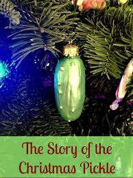 silly decorations the story of the pickle