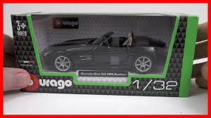 model car toy 1 32 car mercedes benz sls amg roadster toy car for kids bburago