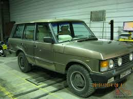 green range rover classic rover 3 5 efi auto 1986 rare wood u0026 pickett conversion