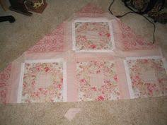 baby shabby chic quilt throw blanket pink lavender white