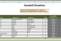 Clothing Donation Tax Deduction Worksheet Clothing Donation Tax Deduction Worksheet Afternoondlite Com