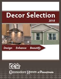 commodore homes of pennsylvania decor selection 2018 by the