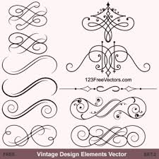 85 free vintage vector ornaments pack ornament free vector