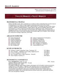 Facility Manager Resume Sample by Download Ministry Resume Templates Haadyaooverbayresort Com