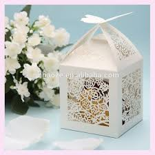 wedding favor boxes wholesale party decoration wedding favor boxes carved roses wedding card