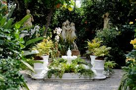 Courtyard Garden Ideas Italian Garden Design Garden Design Ideas