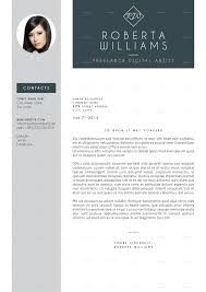 professional resume cv indesign template by cesarescarselletti