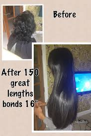 Hair Extensions Sheffield by 150 Great Lengths Bonds 16