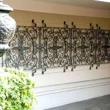 fish wall decor for bathroom cool metal garden gate iron wood
