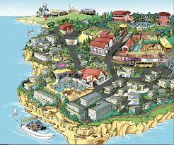amparo collazo moll illustration of sun club resort of mallorca