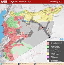 map of syria map of syrian conflict after government s large advance near