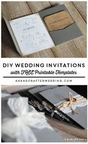 diy wedding invitations templates diy rustic wedding invitations templates yourweek 994caeeca25e