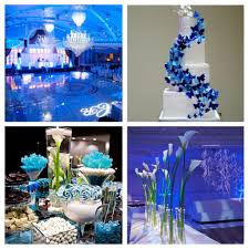 themed wedding ideas tematica de boda de color azul ideas blue