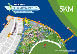 Map Run Route by Pccw Global Charity Run 2017 Spacebib