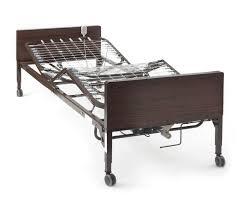 hospital style bedside table awesome medlite basic full electric hospital bed seniorcom of