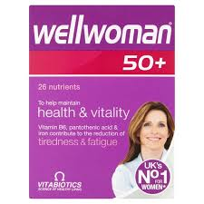 vitamins for hair over 50 morrisons wellwoman 50 vitamins 30 per pack product information