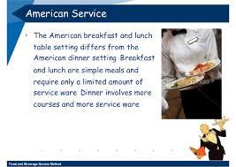 Formal Breakfast Table Setting Week 11 12 Food And Beverage Service Method 3 2552