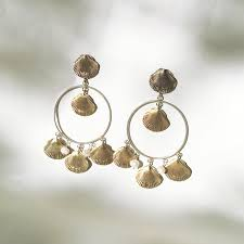 and pearl chandelier earrings concha and pearl chandelier earring beatrice valenzuela