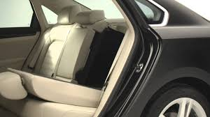 volkswagen phaeton back seat 2015 volkswagen passat sel 60 40 split folding rear seat youtube