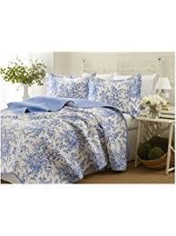 Porcelain Blue Duvet Cover Amazon Com Ralph Lauren Porcelain Blue Tamarind Birds Toile 3pc