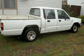 triton 1995 dual cab ute 5 sp manual 2 6l carb going cheap in