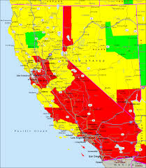 Amtrak Map California by Air Quality Map California California Map