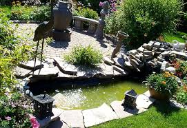 landscaping ideas for backyard creeks the garden inspirations