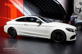 mercedes c class shape mercedes c class coupe and c63 coupe bring sloped roofline