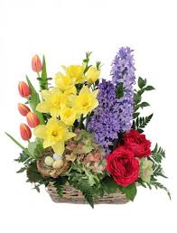 flowers to go blissful garden flower basket in west palm fl flowers to go