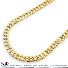 best gold chain necklace images 10k real yellow gold 7mm wide miami cuban link box clasp chain jpg