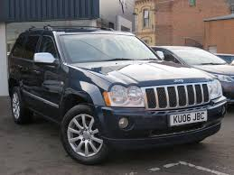 used jeep grand cherokee cars for sale motors co uk