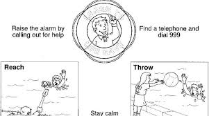 default pic photo water safety coloring pages coloring