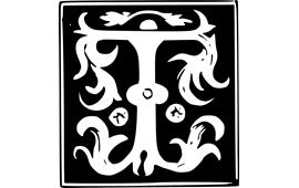 monogram letter t monogram initial letter letter t png image picpng